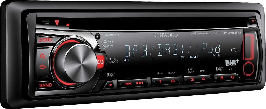 Kenwood launch all-new High Performance Digital Radio for your car