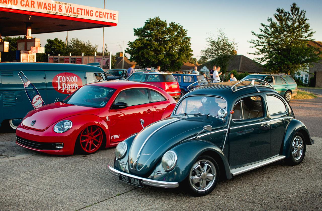 how to clean chrome backs on beetle headlights