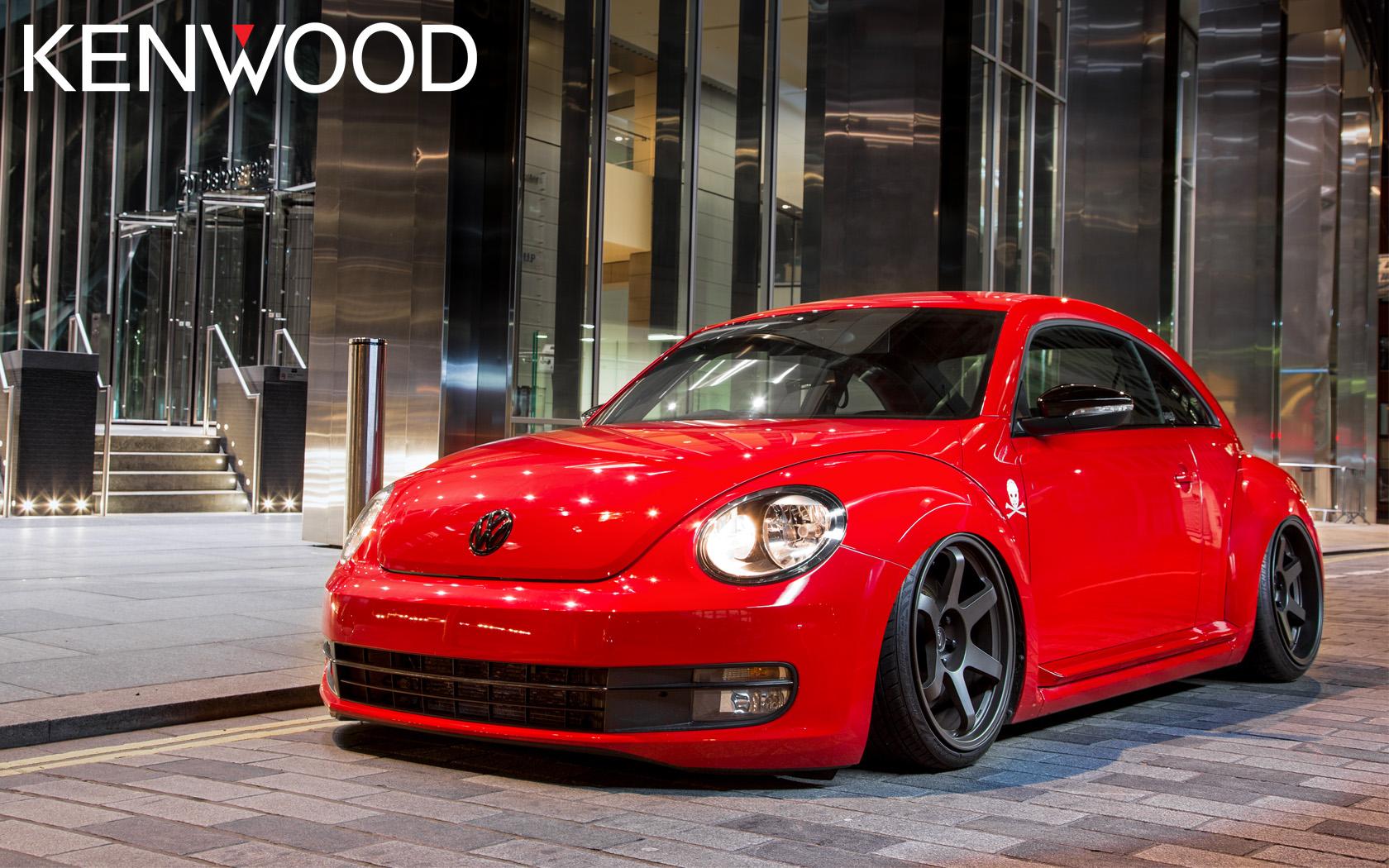 beetle air ride kenwood car audio entertainment