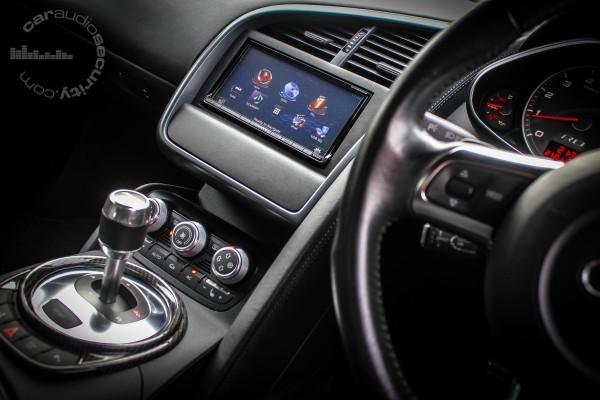 DNN9230DAB Install For The Car Audio Amp Security Audi R8