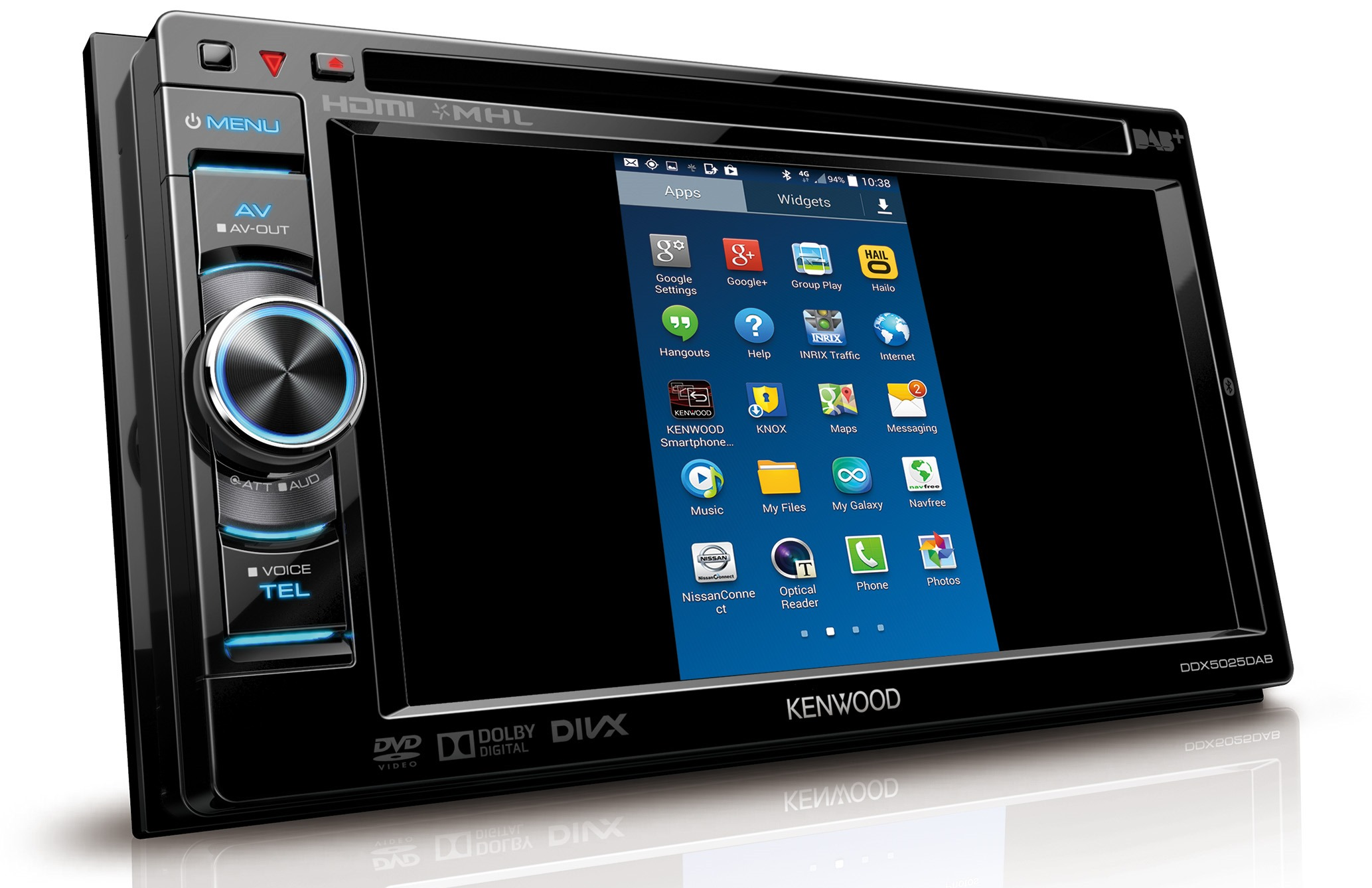 kenwood ddx5025dab kenwood car audio entertainment. Black Bedroom Furniture Sets. Home Design Ideas
