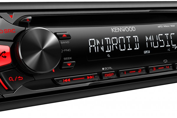 Introducing the Kenwood KDC-164U Range of Android / USB Receivers