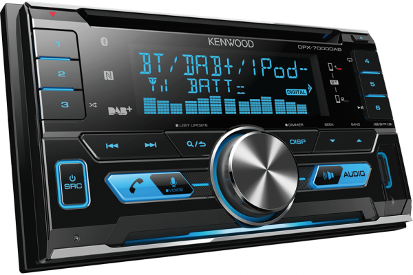 New for 2016: Kenwood DPX-7000DAB with NFC Bluetooth pairing