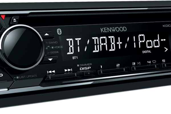 New for 2016: Kenwood KDC-BT700DAB Combined DAB and Bluetooth