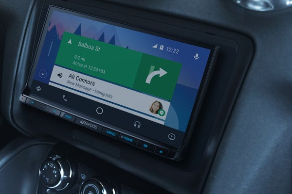Android Auto and Kenwood, mobile connectivity behind the wheel