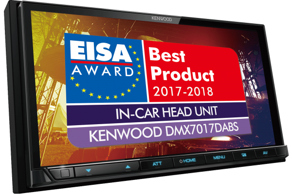 DMX7017DABS wins EISA best in car head unit 2017-2018