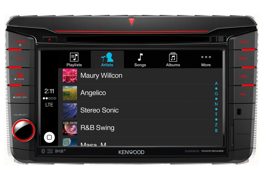 DNX516DABS-CarPlay-iTunes-Screen