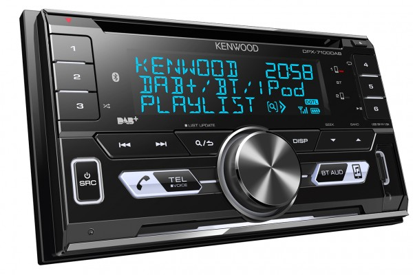 Embrace digital music on the move with the DPX-7100DAB