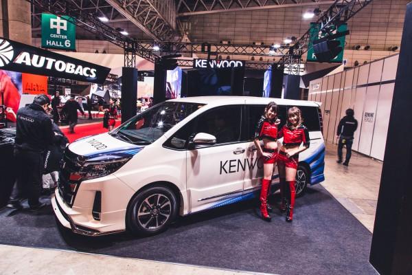 Kenwood at Tokyo Auto Salon 2018