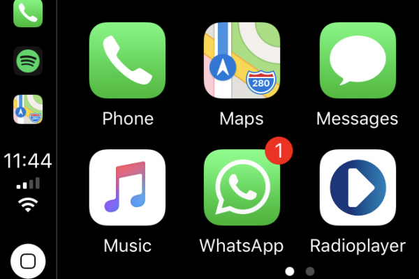 Get WhatsApp in your car with Apple CarPlay by Kenwood